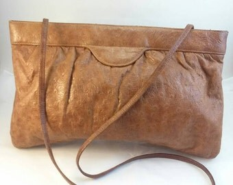 SALE Vintage Halston leather purse