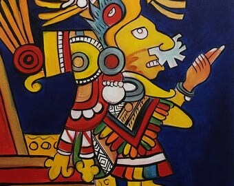 Xochiquetzal- Love Goddess Painting
