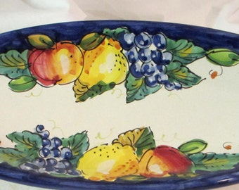 D'ARNA Italia Ceramics Dish - Italian Pottery -- Hand Made and Hand Painted Pottery from Italy
