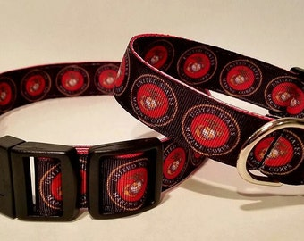 Marine dog collars