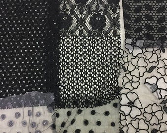 lacey scrap pack - black