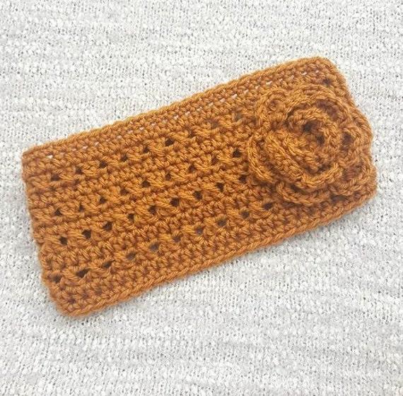 Crochet Ear Warmers Crochet Headband Headwrap Ear Warmers