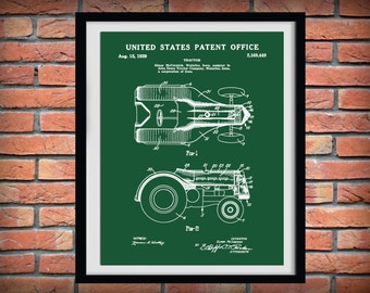 Patent 1939 John Deere Tractor - McCormick Tractor - Art Print or Poster - Wall Art - Agriculture Art - Farming - Farm Equipment Patent