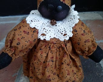 LIL' BLACK DOLL - Shelf sitter doll