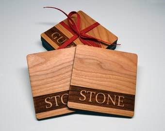 Personalized Coasters - Set of four