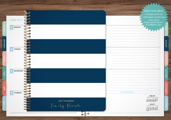 2017 Planner Custom 2017 2018 Planner Student Planner