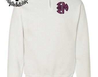 ΦΜ 1/4 Zip Sweatshirt