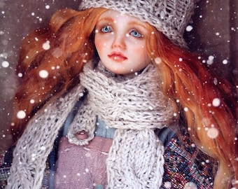 SALE -13% Art doll  collectible BJD resin doll ball joined doll msd Marta