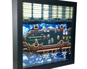 Final Fantasy VI (SNES) Falcon's Flight Shadow Box