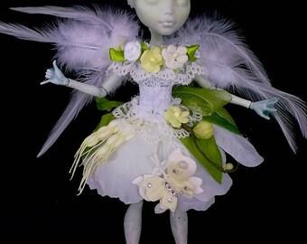 Monster High Dresses, Mh Dresses, High Outfit Monster, Handmade, Fata diei Flowers