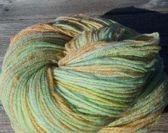 Babydoll Yarn,Hand Spun and Hand Dyed