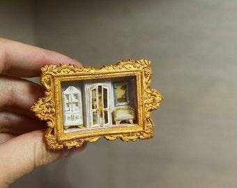 Dollhouse Miniature RoomBox 1/12
