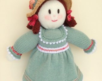 Large Knitted Doll. Australian made Gift.