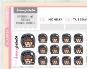 A812 | NIGHT OWL stickers Keenachi Perfect for Erin Condren Life Planner, Filofax, Plum Paper & other planner or scrapbooking