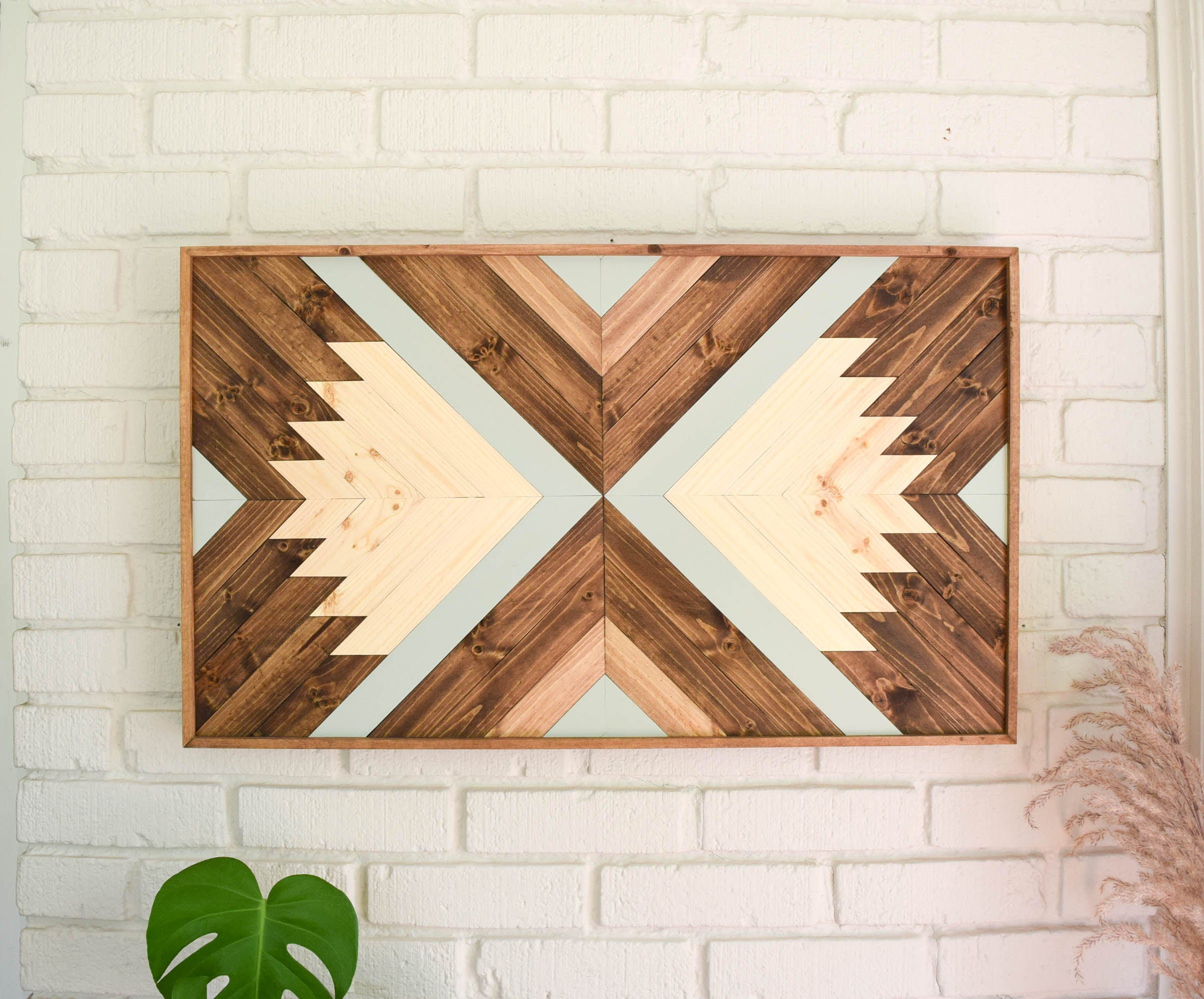 Wood wall art wooden wall art geometric wood art wooden zoom amipublicfo Choice Image
