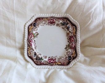 "Salad Plate in the ""Devonshire"" Pattern Number 118579 by Johnson Brothers"