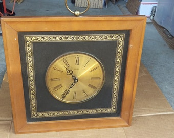 Vintage Welby Clock Etsy
