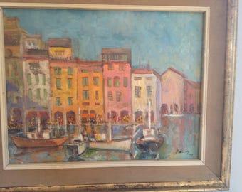 Original Painting - Italian Riviera