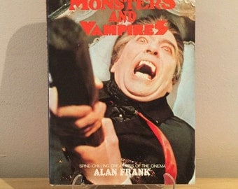 The Movie Treasury, Monsters And Vampires Book