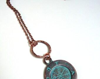 Ancient symbols pendant necklace