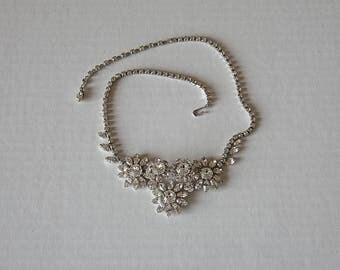 Vintage flowers Necklace - Sherman Jewelry