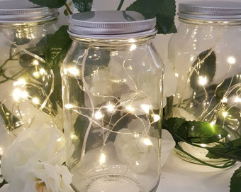 5 Sets! WARM WHITE Micro Led Seed Vine Vase Lights Wedding Centerpiece Fairy Lights