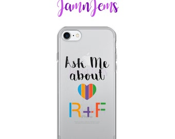 Ask me about Rodan and Fields iPhone Case, Promote your business, Rodan and Fields Gift, Team Achievement, Promotional Item, R+F phone case