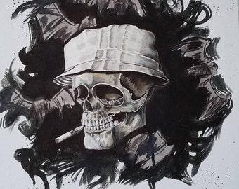 Hunter S Skull