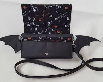 Gothic Lolita Bat Purse-Wallet