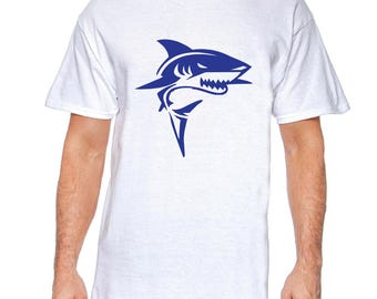 Shark! - Black, White or Gray T-Shirt