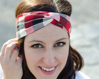 Stretchy Headband - Headband for Women - Birthday Gift for Her - Turban Twisted Headband