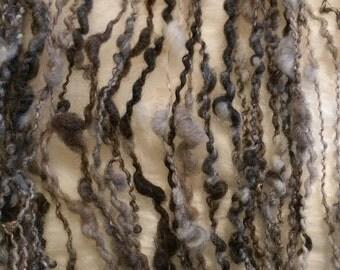 Handspun Yarn - Natural Colors, Bulky, Plied Wool Yarn
