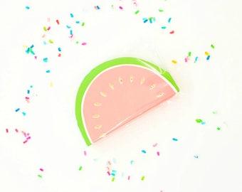 Meri Meri watermelon napkins (16). Watermelon party supplies. fiesta party napkin. watermelon napkin. watermelon party. one in a melon.
