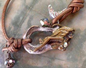 Crystal River Bohemian Mermaid Bracelet