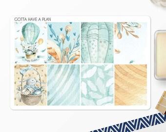 Planner Stickers Easter Bouquet Full Box for Erin Condren, Happy Planner, Filofax, Scrapbooking