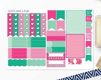 Planner Stickers Easter Basket Functional Sheet for Erin Condren, Happy Planner, Filofax, Scrapbooking