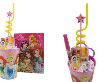 Disney Princess  Keepsake Cup and Princess Party Favors ~  Filled and Prepackaged Princess Party Favors