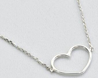 Wire Heart Adjustable Bracelet