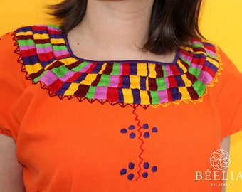 Mexican blouse - Embroidery - Handmade
