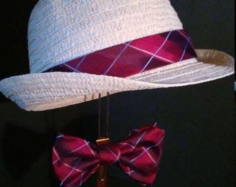 Men's Derby Hat and Bowtie