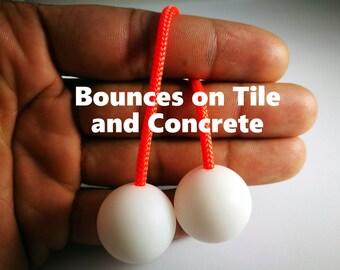 Bouncin' Begleri Worry Beads White Skill Toy Fidget Toy Stress Toy