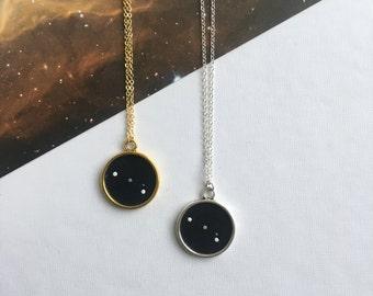 ARIES NECKLACE. zodiac jewellery - aries constellation necklace - aries zodiac necklace - aries star sign necklace - zodiac - astrology