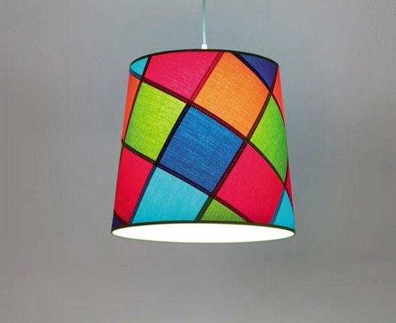 Patchwork Pendant Lighting Nursery Pendant Light Ceiling