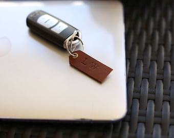 Multipurpose personalized leather keychain, luggage tag, bookmark!! Best gift, present, birthday for mother, father, girlfriend, boyfriend!
