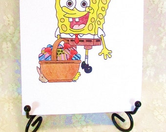 Spongebob Easter Card