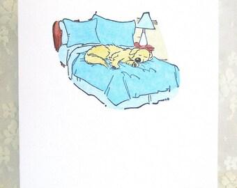 Dog Note Card