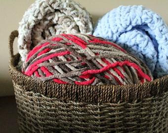 Tribal Aztec Crocheted Baby Blanket