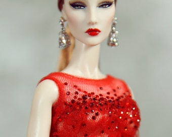 dress for fashion royalty , Poppy Parker , Silkstone Barbie , fr2 , 12'' Fashion Doll size