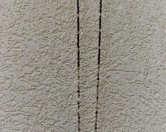 Long Necklace w Mt. Vesuvius Stone