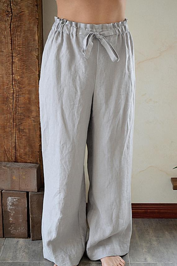 Creative Grey Linen Pants Women  Fantastic Blue Grey Linen Pants Women Style U2013 Playzoa.com